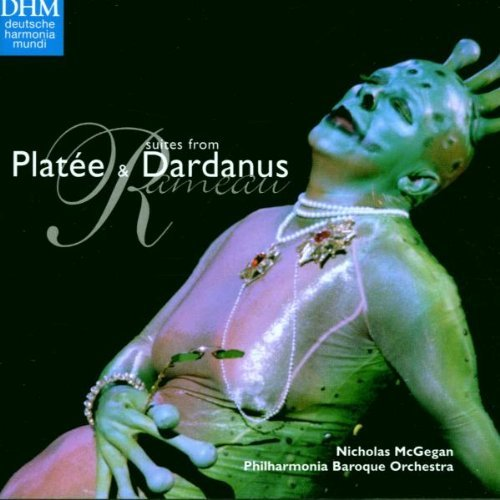 Mcgegan Philharmonia Baroque O Suites From Platee & Dardanus CD R CD Album