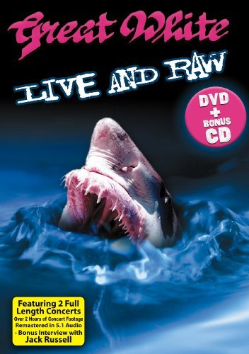 Great White Live & Raw Deluxe Pack Incl. CD