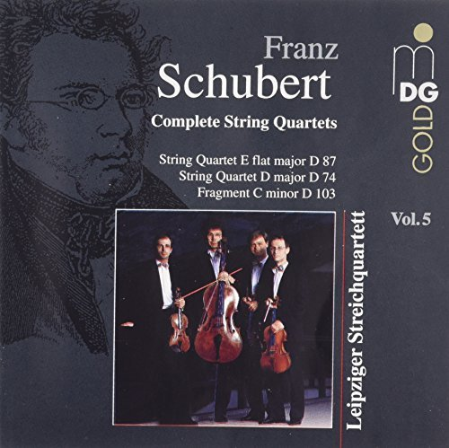 F. Schubert String Quartet In E Flat Liepzig Str Qt