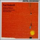 P. Hindemith Orchestral Works 6 Albert Melbourne Sym Orch
