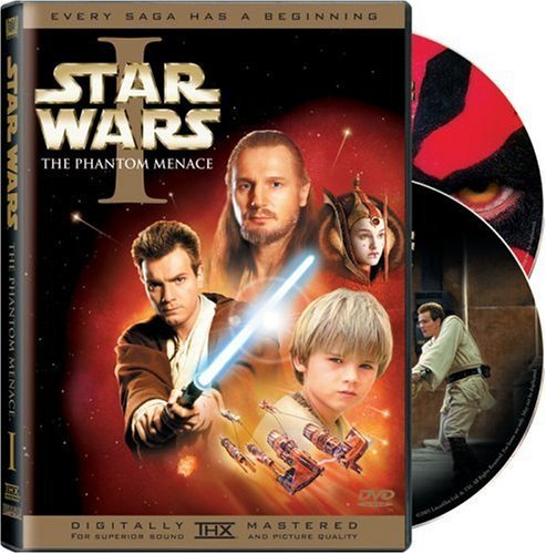 Star Wars Episode 1 Phantom Menace Mcgregor Neeson Portman Pg 2 DVD