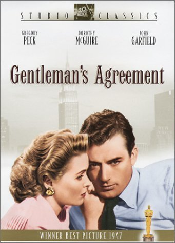 Gentleman's Agreement Peck Mcguire Garfield Bw Nr