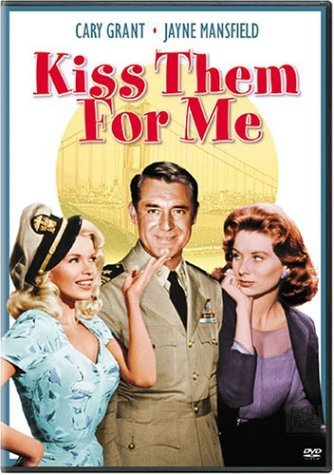 Kiss Them For Me Grant Mansfield Parker Erickson DVD Nr