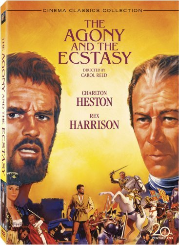Agony & The Ecstasy Heston Harrison DVD Nr Ws