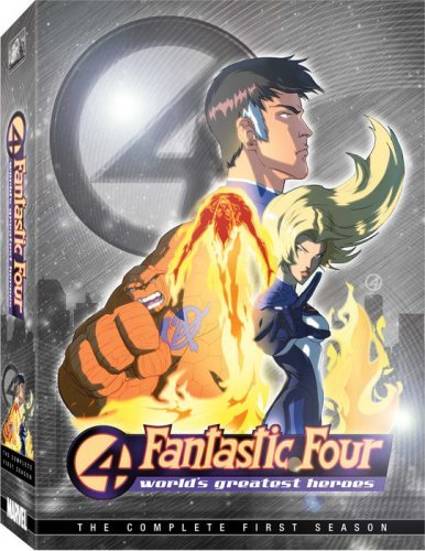 Fantastic Four Worlds Greatest Heroes Nr 4 DVD