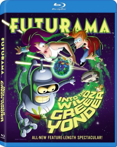 Futurama Into The Wild Green Yonder Blu Ray Nr