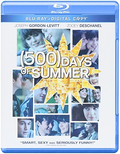 500 Days Of Summer Deschanel Gordon Levitt Blu Ray Pg13 Ws