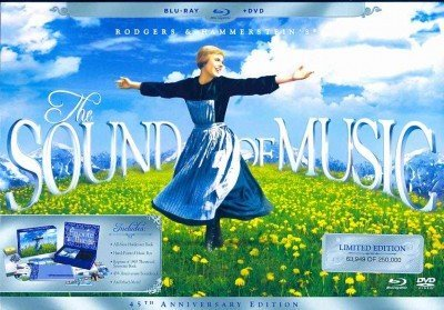Sound Of Music Sound Of Music Blu Ray Ws 45th Anniv. Ed. G 3 Br Incl. Book Music Box