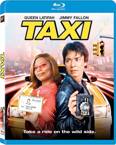 Taxi Latifah Fallon Bundchen Simmon Blu Ray Ws Pg13
