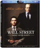 Wall Street Money Never Sleep Douglas Le Bouf Mulligan 3 Disc Blu Ray
