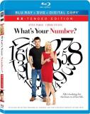 What's Your Number? Faris Evans Blu Ray Ws Faris Evans