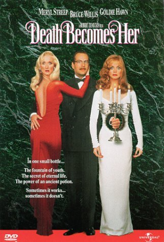 Death Becomes Her Willis Hawn Streep DVD Pg13