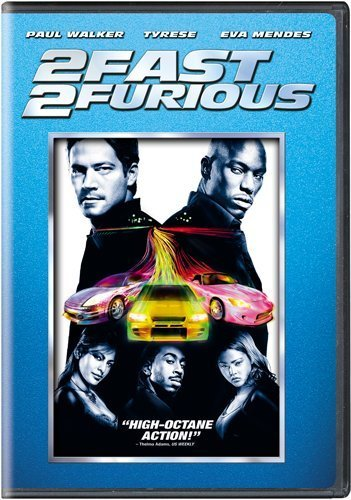 Fast & The Furious 2 Fast 2 Furious Walker Gibson Mendes Ludacris Pg13 2 DVD