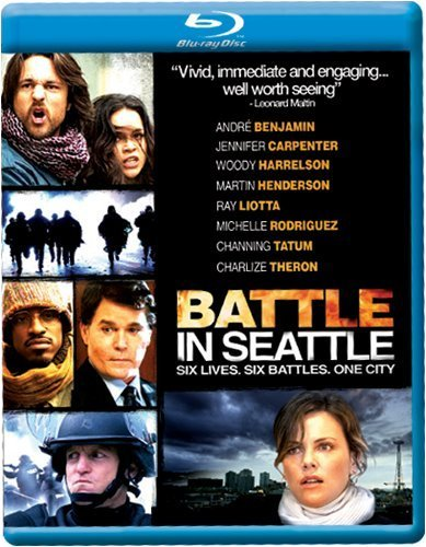 Battle In Seattle Theron Harrelson Liotta Rodrig Blu Ray Ws R