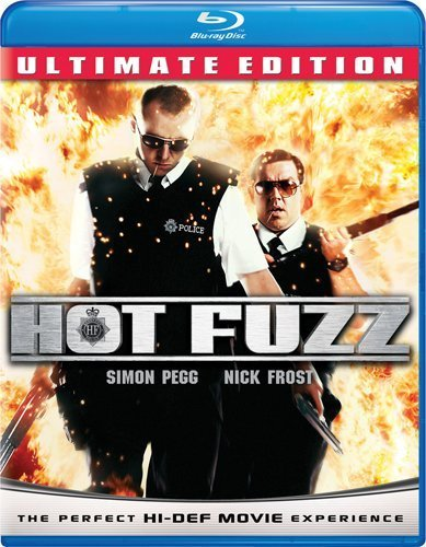 Hot Fuzz Pegg Frost Freeman Blu Ray R