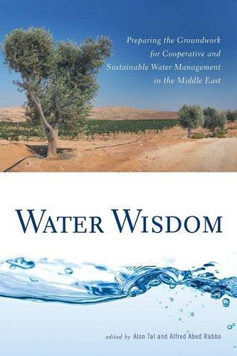 Alon Tal Water Wisdom Preparing The Groundwork For Cooperative And Sust