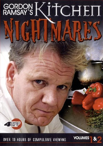 Gordon Ramsay's Kitchen Nightm Vol. 1 2 Gordon Ramsay's Kitch Import Can 4 DVD Ntsc