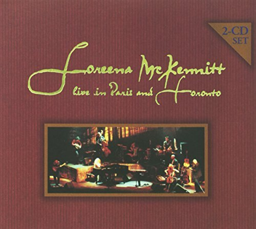 Loreena Mckennitt Live In Paris & Toronto 2 CD Set