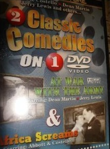 Classic Comedies 2 Africa Screams & At War With The Army