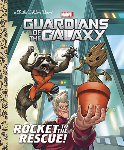 John Sazaklis Rocket To The Rescue! (marvel Guardians Of The Galaxy)