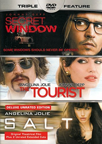 Secret Window The Tourist Salt Triple Feature