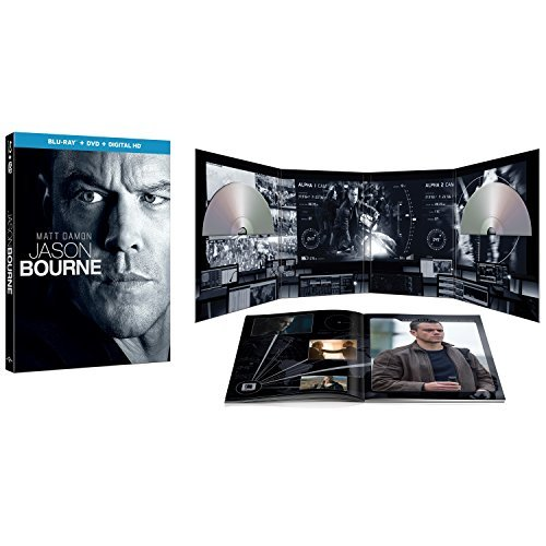 Bourne Jason Bourne Damon Jones Vikander Limited Edition