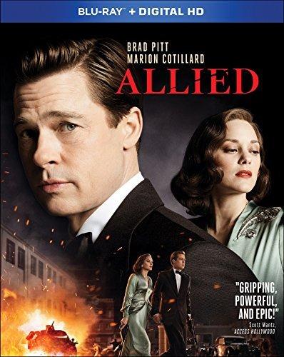 Allied/Pitt/Cotillard@Blu-ray/Dc@R