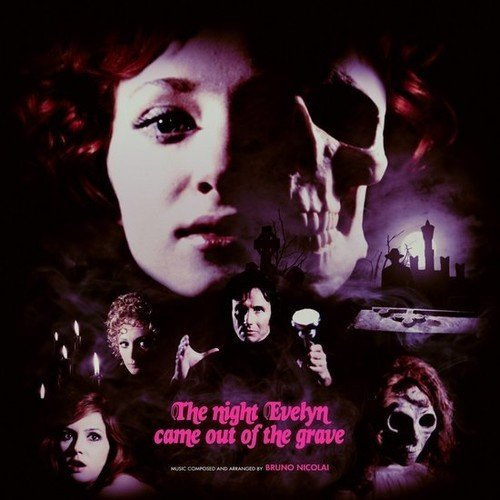 The Night Evelyn Came Out Of The Grave Soundtrack Color 2xlp Lp