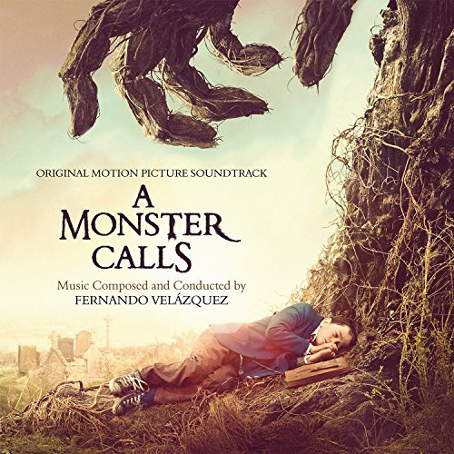 fernando-velazquez-a-monster-calls-orange-yellow-mixed-vinyl-180-gram-audiophile-vinyl-feats-keane-booklet-gatefold-numbered-to-500-2lp