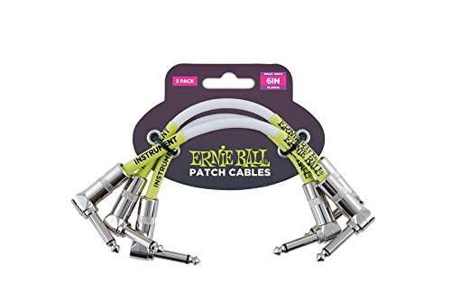 Ernie Ball Patch Cable 3pk .5ft