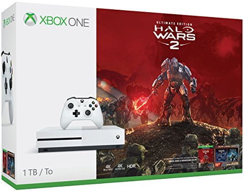 Xbox One S System S 1tb Halo Wars 2 Bundle