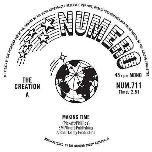 The Creation/Making Time b/w Making Time (Instrumental)