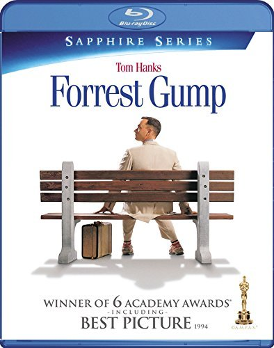 Forrest Gump Hanks Field Wright Williamson Blu Ray Pg13
