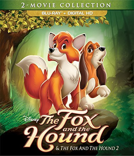 Fox & The Hound Fox & The Hound 2 Disney Blu Ray Dc G