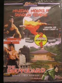 Martial Monks Of Shaolin Temple The Bodyguard Double Feature
