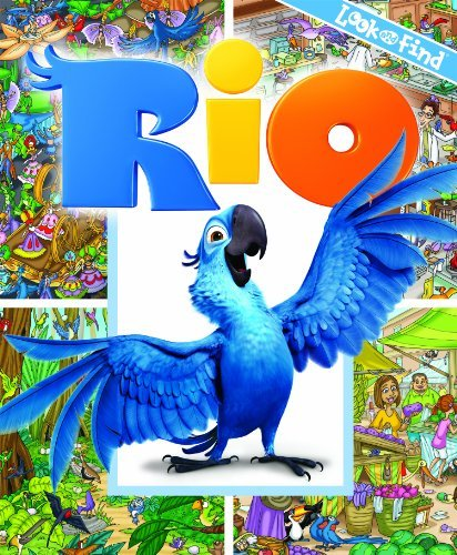 Editors Of Publications International Ltd. Look And Find Rio