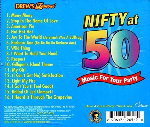 Drew's Famous Party Music Nifty At 50 For Your Party Drew's Famous Party Music