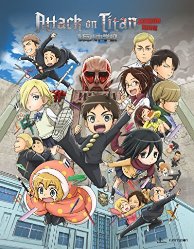 Attack On Titan Junior High Complete Series Blu Ray DVD Limited Edition