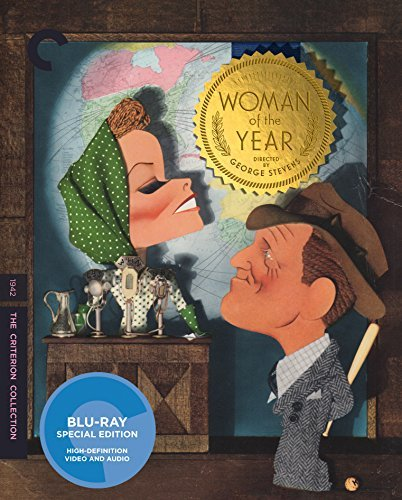 Woman Of The Year Hepburn Tracy Blu Ray Criterion