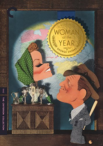 Woman Of The Year/Hepburn/Tracy@Dvd@Criterion