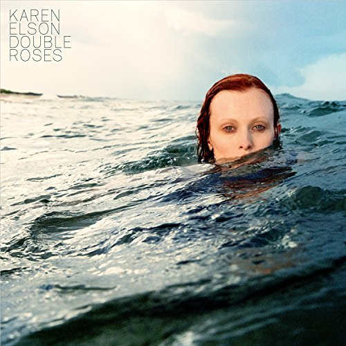 Karen Elson Double Roses (white W Smoky Black Vinyl)