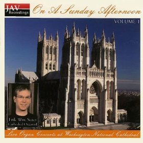 Erik Wm. Suter On A Sunday Afternoon (volume 1) Live Organ Conce