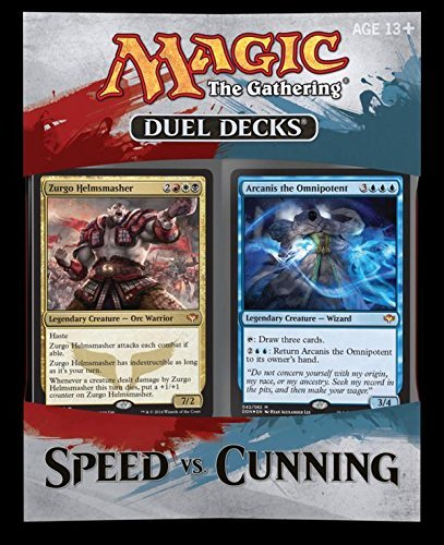 Magic The Gathering Cards Speed Vs. Cunning Duel Deck