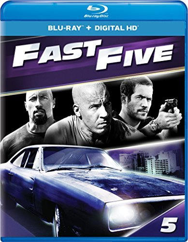 Fast & The Furious Fast Five Blu Ray Pg13