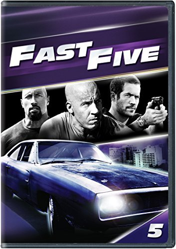 Fast & The Furious Fast Five DVD Pg13