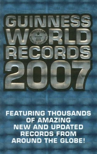 Craig Glenday Guinness World Records 2007 (guinness Book Of Reco