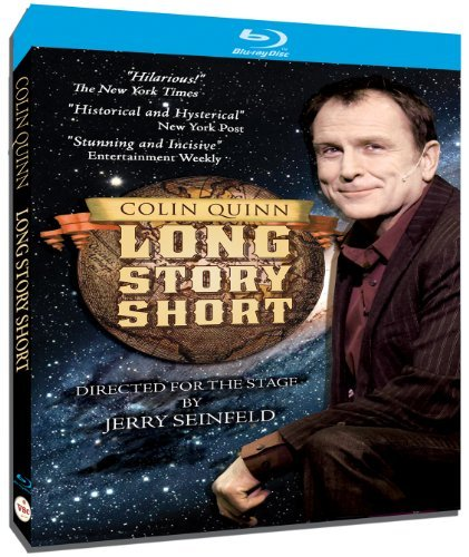Colin Quinn Long Story Short Blu Ray