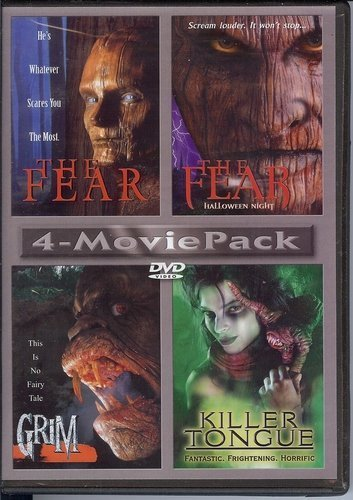 4 Movie Pack Fear Fear Halloween Night Grim Killer Tongue