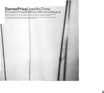 Darren Price Lose No Time