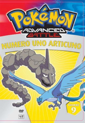 Vol. 9 Numero Uno Articuno Pokemon Advanced Battle Nr